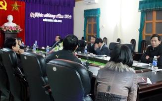 Đề nghị cách chức Chủ tịch, Phó Chủ tịch huyện Tiên Lãng