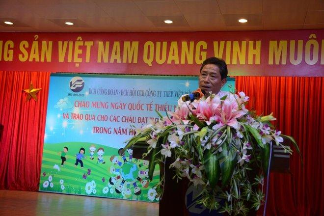 Công đoàn, Hội Cựu chiến binh Công ty Cổ phần Thép Việt Đức tổ chức ngày quốc tế thiếu nhi 1/6 cho con của CBCNV Công ty