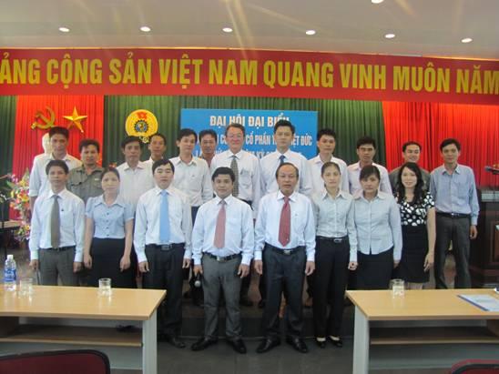Đại hội Công đoàn Thép Việt Đức thành công tốt đẹp