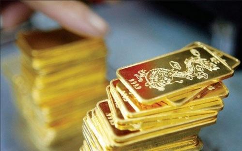 Giá vàng giảm mạnh rồi tăng nhanh