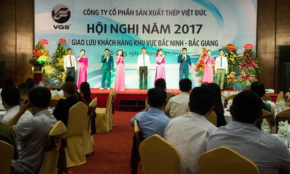 Hội nghị khách hàng Thép Việt Đức khu vực Bắc Giang, Bắc Ninh