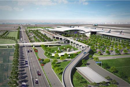 Nhà ga T2 Sân bay quốc tế Nội Bài lựa chọn Thép Việt Đức - VGS để thi công.