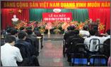 Ra mắt Đảng bộ Công ty CP Thép Việt Đức