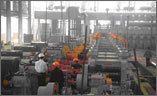 Sản phẩm thép xây dựng Việt Đức VGS chuẩn bị ra lò.
