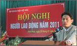 Thép Việt Đức tổ chức thành công Hội nghị người lao động năm 2011