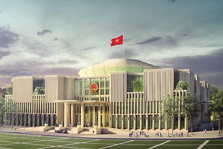 VG PIPE: Cung cấp ống thép cho dự án Tòa Nhà Quốc hội