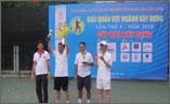 Thép việt đức đoạt chức vô địch giải quần vợt ngành xây dựng nam năm 2010