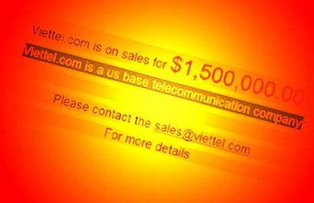 Viettel.com bị rao bán: Rào cản tương lai của Viettel?